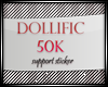D/50K Support Sticker