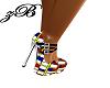 Versace Mixed Color Heel