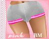 PINK-Short Grey Pink BM