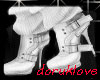 White High Winter Shoes
