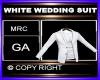 WHITE WEDDING SUIT