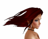 Hair Red Windy