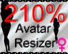 *M* Avatar Scaler 210%