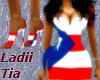 Puerto Rican Flag Dress