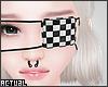 ✨ Checkered Eyepatch