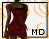 Spotted Red Dress {MD}