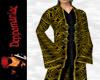 Retro Goth Coat GOLD