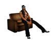 (BL)Desert chair brown
