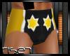 R: CM Punk Trunks Yellow