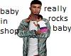 Daddy Rocking Baby Avi