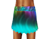 Hippie Psychedelic Skirt