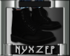 DM Black Biker Boot (M)