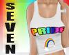Silver Seven Pride top