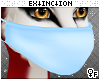 #furry mask: blue