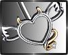 Devil Heart Belly Ring