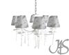 !J shabby chandelier