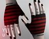 🆈 Emo Stripe Gloves