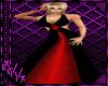 :V: Red/Black Gown
