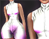 N| Bike Romper L- White