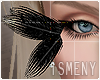 [Is] Feather Eyes Black