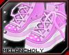 Cupcake Shoes: Pink