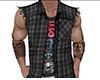 Gray Sleeveless Jacket M
