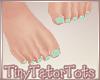 Kids Bare Feet Mint