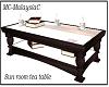 sunroom tea table