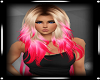 Gene Dark Blond Hot Pink