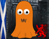 Orange Ghost Avatar