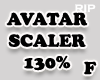 R. AVATAR SCALER 130 F