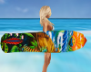 Tropical Surfboard Anim.