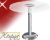 X Glass & Metal Table