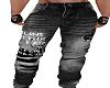 Distress Black Jeans