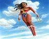 Wonder Woman Club Table