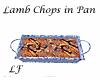 LF Lamb Chops in Blu Pan