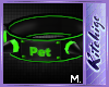 K!t - Collar Green Pet