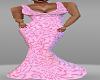Pink DRAP Dress