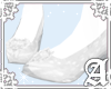 Glass Slippers~ White