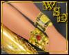 Lush Gold Nail Bracelets