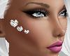 Diamond Face Hearts