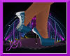 [JD]Blue/Grey Heel