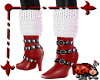 StudStrap Boot/Sox Red