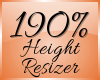 Height Scaler 190% (F)