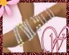WF>Diamonds&Gold Anklets
