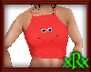 Smile Top Red