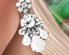Bali Earrings White
