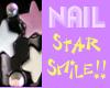 pop smile star nails