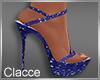 C blue Nye heels