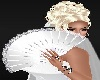 Bride White Fan + Poses